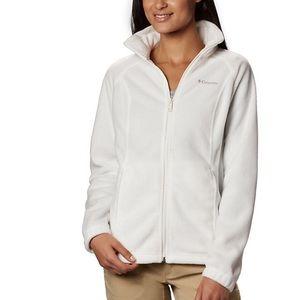Columbia Full Zip Fleece Jacket size Small
